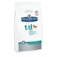 Hill's Prescription Diet t d cavo orale alitosi mini 3Kg