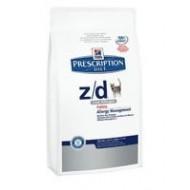 Hill's Prescription Diet Feline z/d allergie e intolleranze alimentari low allergen 2Kg