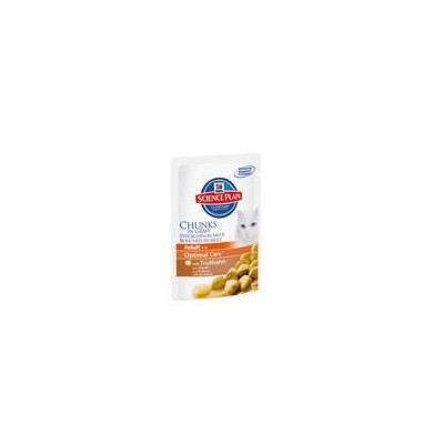 Hill's Adult Optimal Care Tacchino bustina 100gr
