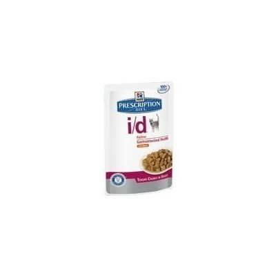 Hill's Prescription Diet i d disturbi gastrointestinali bocconcini in salsa con Pollo 12 bustine da 85gr