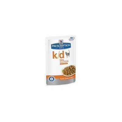 Hill's Prescription Diet k d disturbi renali bocconcini in salsa con Pollo 12 bustine da 85gr