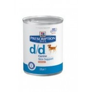 Hill's Prescription Diet d d disturbi della cute Salmone 370gr