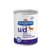 Hill's Prescription Diet u d calcoli ossalati urati cistina base 370gr