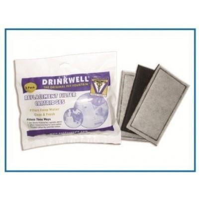 Filtro carbone attivo per fontane DRINKWELL - 3pz
