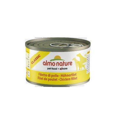 Almo Nature Classic Dogs 24x95 gr con Filetto di Pollo
