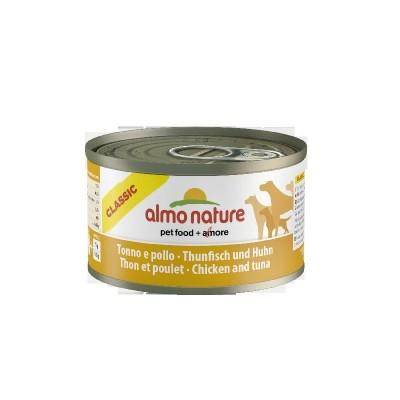 Almo Nature Classic Dogs 24x95 gr con Tonno e Pollo