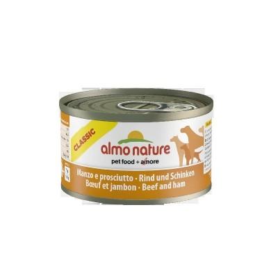 Almo Nature Classic Dogs 24x95 gr con Manzo con Prosciutto