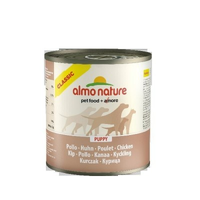 Almo Nature Classic Dogs 12x280 gr Puppy con Pollo