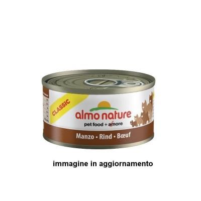Almo Nature Classic con Tonno, Pollo e Formaggio lattina da 70gr