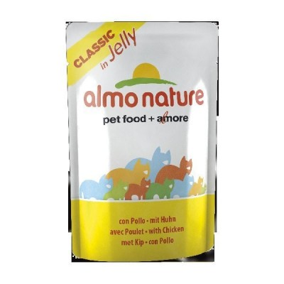 Almo Nature Jelly Classic con Pollo da 55g