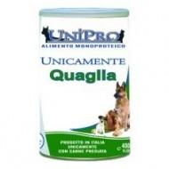 Unipro Monoproteico alla Quaglia da 400gr (ct. 24x400gr)