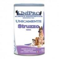 Unipro Monoproteico allo Struzzo da 400gr (ct. 24x400gr)
