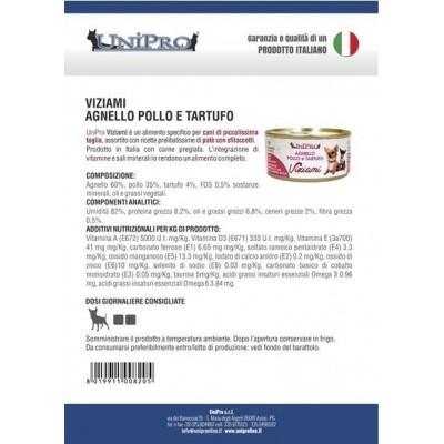 Unipro Viziami Quaglia e Vitello con Olio d'Oliva (24x85gr)