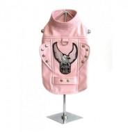 "Giacca da motociclista ""Born to ride"" Pink"