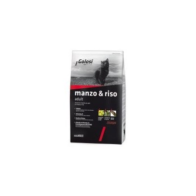 Golosi Manzo & Riso da 7,5KG