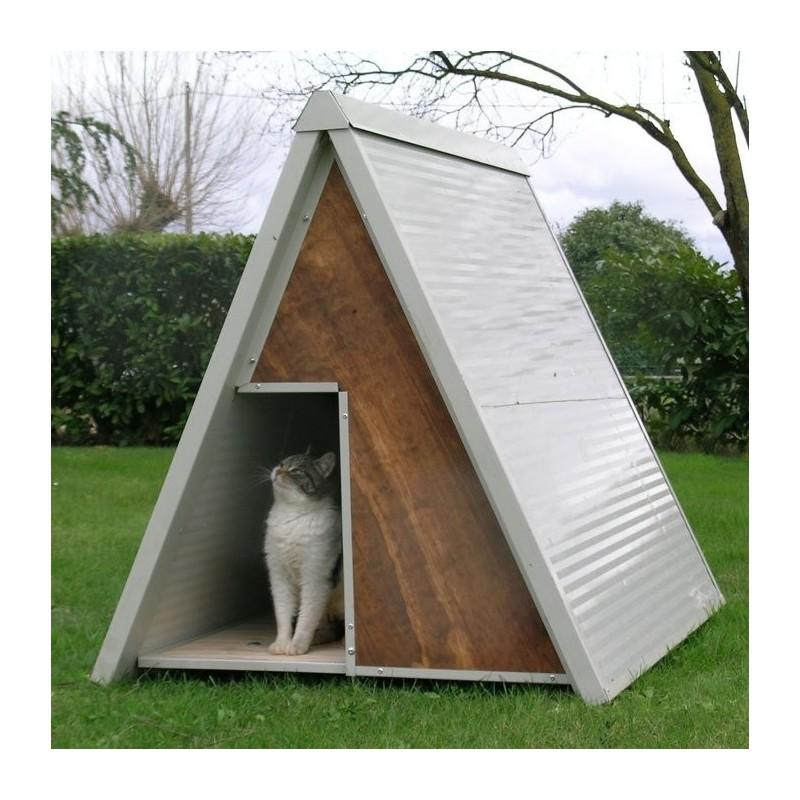 Preventivo gratuito cuccia o box gatto su misura for Cucce per cani da esterno coibentate