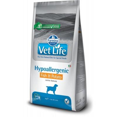 Farmina Vet Life Hypoallergenic Fish & Potato Canine