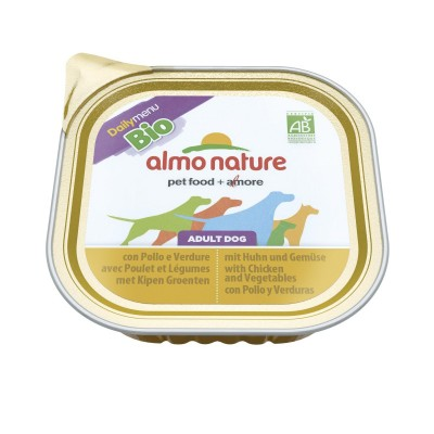 Almo Nature Daily Menu Bio Dogs con Pollo e Verdure