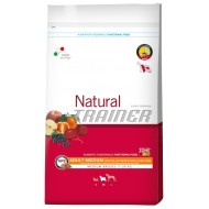Trainer Natural Adult Medium Pollo Riso e Aloe Vera da 12,5kg