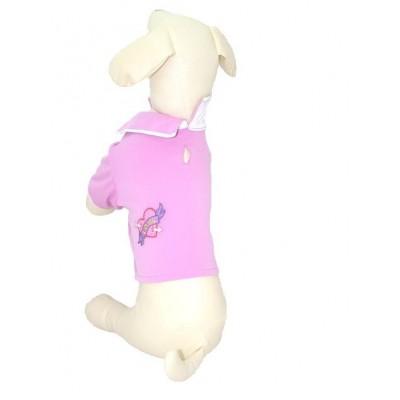 T-shirt Polo rosa