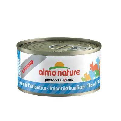 Almo Nature Classic Tonno dell'Atlantico lattina da 70gr