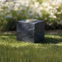 Lapide commemorativa dado con cuore - colore grigio