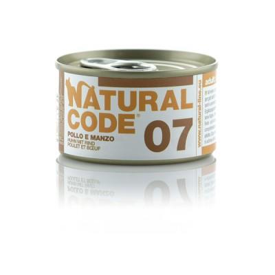 Natural Code 06 Pollo e verdure