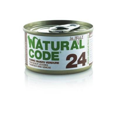 Natural Code 24 Tonno, Manzo e Verdure