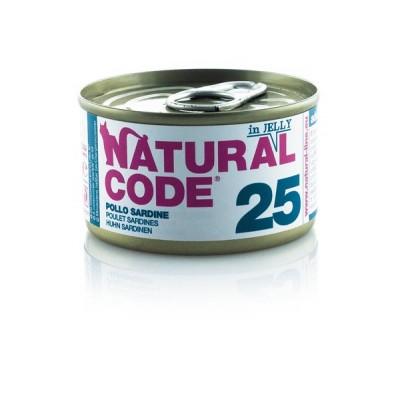 Natural Code 25 Pollo e Sardine