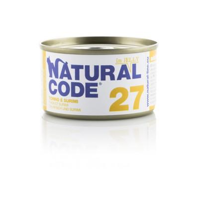 Natural Code 27 Tonno e Surimi