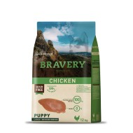 BRAVERY MEDIUM MAXI PUPPY Pollo da 12kg