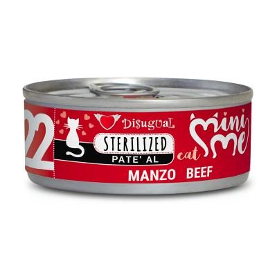 Disugual Cat Mini Me Sterilized Manzo 85gr