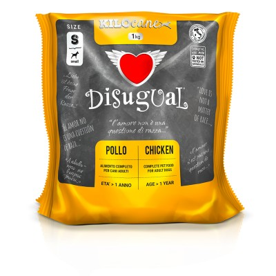 DISUGUAL - POLLO ADULT SMALL da 1 kg