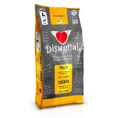 DISUGUAL POLLO ADULT LARGE12kg