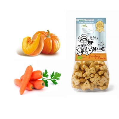 Biscotti Biologici Marie alla carota e zucca 210gr