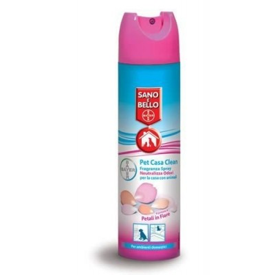 Pet Casa Clean Fragranza Bayer da 300ml