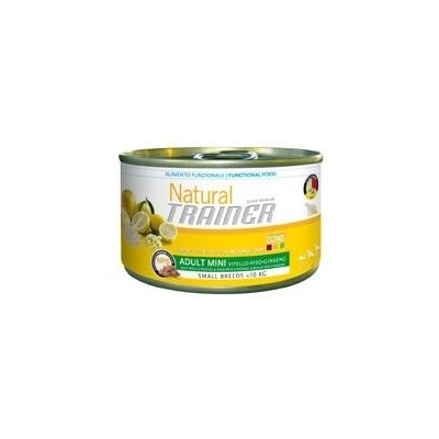 Trainer Natural Adult Mini Manzo, Riso e Ginseng umido 150gr