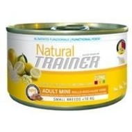 Trainer Natural Adult Mini Pollo, Riso e Aloe Vera umido 150gr