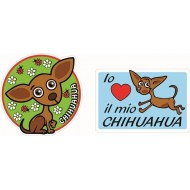 Adesivi Pet Chihuahua