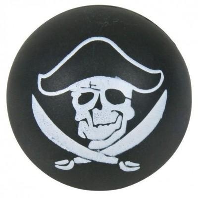 Palla pirata in gomma naturale