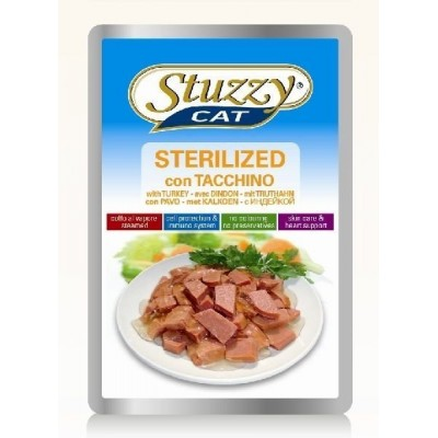 Stuzzy cat Bustine Sterilized 100gr