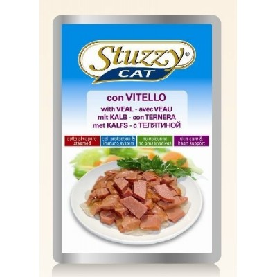 Stuzzy cat Bustine Vitello 100gr