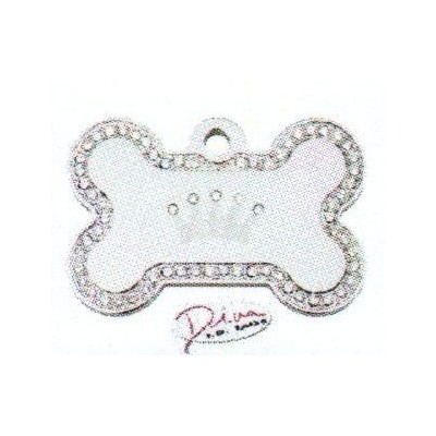 Osso Strass Crown Silver