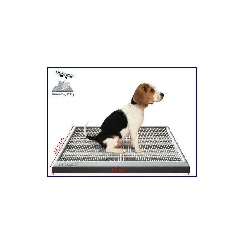 UGODOG is an innovative and environmentally friendly indoor dog potty and house training system. Our UGODOG trays are made from high-grade durable plastic and are easily cleaned. Use our optional amazing liners with the system.