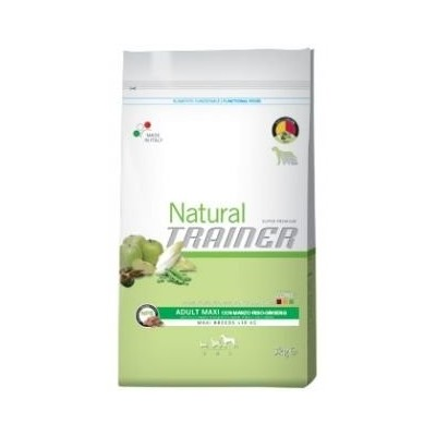 Trainer Natural Adult Maxi con Manzo, Riso e Ginseng