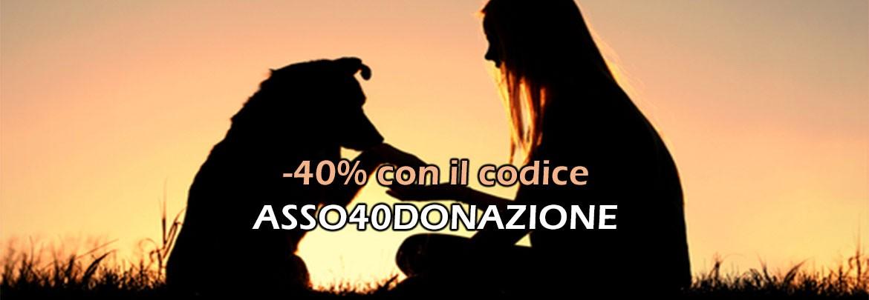 Sconto 30% per Donazioni ad Associazioni